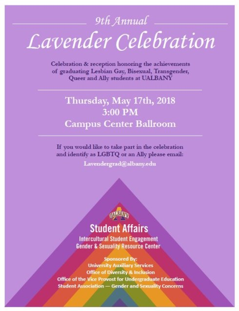 Lavender Celebration 2018 Flyer