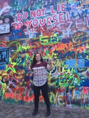 Erica in Prague!