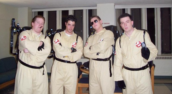 Craig and Friends in Ghostbusters Costume