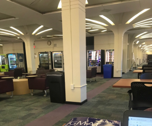Vending Machines in the Library
