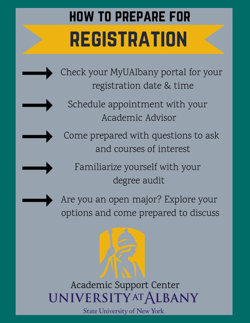 How to Prepare For Registration Flyer