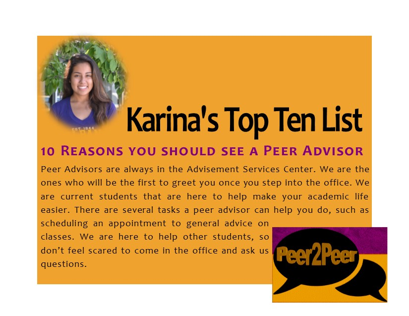 peer-advisor-top-ten-reasons-karina-first