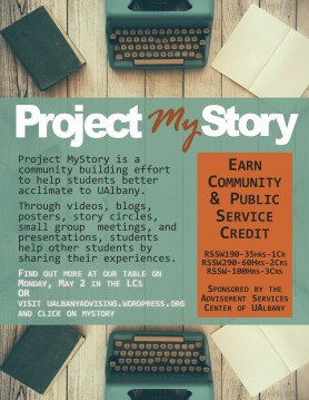 2016-17 Project MyStory Advertisement