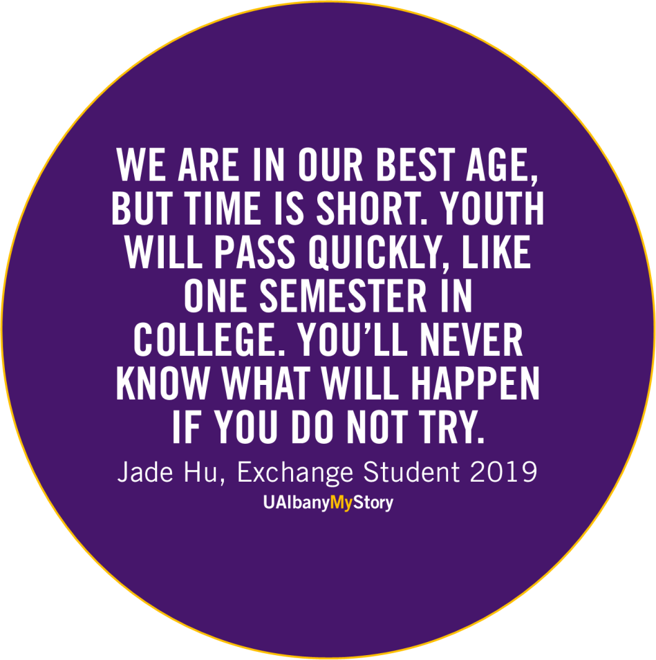 Quote by Jade Hu from Spring 2019